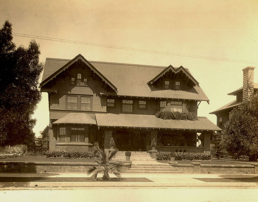 West adams heritage association in historic west adams for Historical homes in los angeles